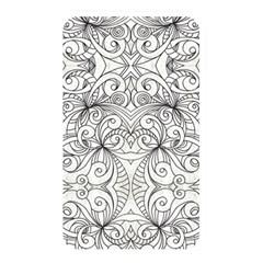Drawing Floral Doodle 1 Memory Card Reader by MedusArt