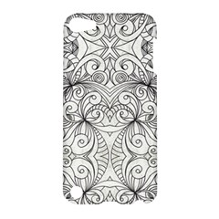 Drawing Floral Doodle 1 Apple Ipod Touch 5 Hardshell Case by MedusArt