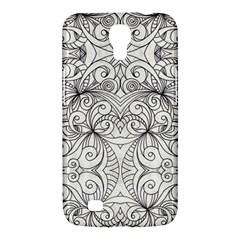Drawing Floral Doodle 1 Samsung Galaxy Mega 6 3  I9200 Hardshell Case by MedusArt