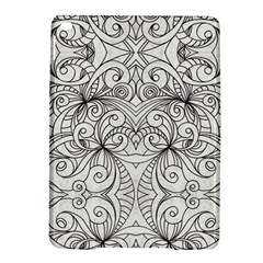 Drawing Floral Doodle 1 Ipad Air 2 Hardshell Cases by MedusArt