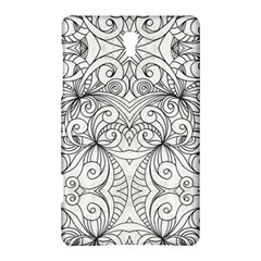 Drawing Floral Doodle 1 Samsung Galaxy Tab S (8 4 ) Hardshell Case  by MedusArt