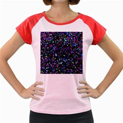 Glitter 1 Women s Cap Sleeve T Shirt by MedusArt