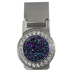 Glitter 1 Money Clips (cz)