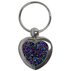 Glitter 1 Key Chains (heart)  by MedusArt