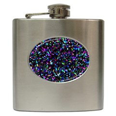 Glitter 1 Hip Flask (6 Oz)