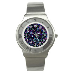 Glitter 1 Stainless Steel Watches by MedusArt