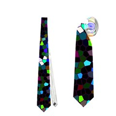 Glitter 1 Neckties (two Side)  by MedusArt