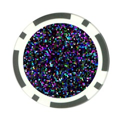 Glitter 1 Poker Chip Card Guards by MedusArt
