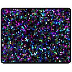 Glitter 1 Fleece Blanket (medium)  by MedusArt