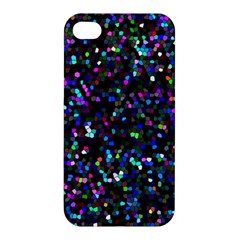 Glitter 1 Apple Iphone 4/4s Hardshell Case by MedusArt