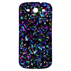 Glitter 1 Samsung Galaxy S3 S Iii Classic Hardshell Back Case by MedusArt