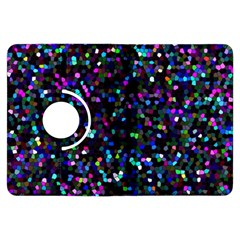 Glitter 1 Kindle Fire Hdx Flip 360 Case by MedusArt
