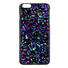 Glitter 1 Apple Iphone 6 Plus/6s Plus Black Enamel Case by MedusArt