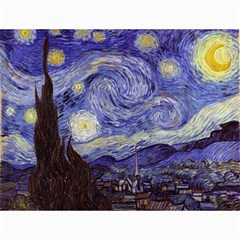 Van Gogh Starry Night Canvas 12  X 16