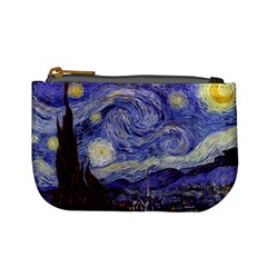Van Gogh Starry Night Mini Coin Purses by MasterpiecesOfArt