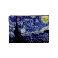 Van Gogh Starry Night Cosmetic Bag (medium)  by MasterpiecesOfArt
