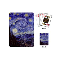 Van Gogh Starry Night Playing Cards (mini)  by MasterpiecesOfArt