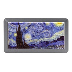 Van Gogh Starry Night Memory Card Reader (mini) by MasterpiecesOfArt