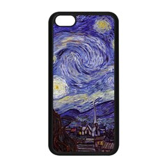 Van Gogh Starry Night Apple Iphone 5c Seamless Case (black)