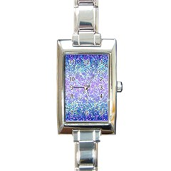 Glitter 2 Rectangle Italian Charm Watches by MedusArt