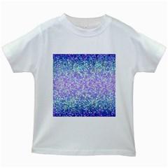 Glitter 2 Kids White T Shirts