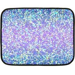 Glitter 2 Fleece Blanket (mini) by MedusArt