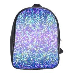Glitter 2 School Bags(large)  by MedusArt