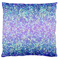 Glitter 2 Large Cushion Cases (one Side)  by MedusArt