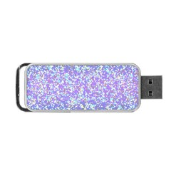 Glitter 2 Portable Usb Flash (two Sides) by MedusArt