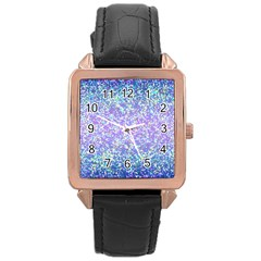 Glitter 2 Rose Gold Watches by MedusArt