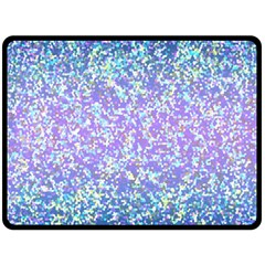 Glitter 2 Double Sided Fleece Blanket (large)