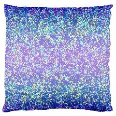 Glitter 2 Large Flano Cushion Cases (one Side)  by MedusArt