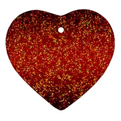 Glitter 3 Ornament (heart)  by MedusArt
