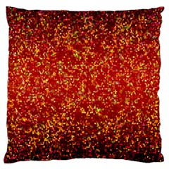 Glitter 3 Large Cushion Cases (two Sides)  by MedusArt