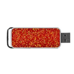 Glitter 3 Portable Usb Flash (one Side) by MedusArt