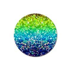 Glitter 4 Magnet 3  (round) by MedusArt
