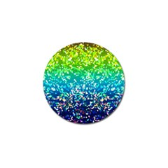 Glitter 4 Golf Ball Marker (10 Pack) by MedusArt