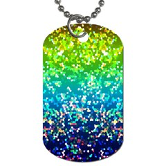 Glitter 4 Dog Tag (two Sides) by MedusArt