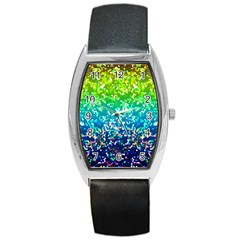 Glitter 4 Barrel Metal Watches by MedusArt