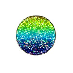 Glitter 4 Hat Clip Ball Marker (10 Pack) by MedusArt