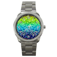 Glitter 4 Sport Metal Watches by MedusArt
