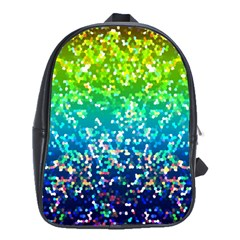 Glitter 4 School Bags(Large)  by MedusArt