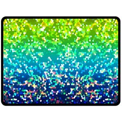 Glitter 4 Fleece Blanket (large)  by MedusArt