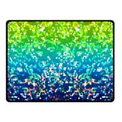 Glitter 4 Double Sided Fleece Blanket (small)  by MedusArt