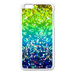Glitter 4 Apple Iphone 6 Plus/6s Plus Enamel White Case by MedusArt