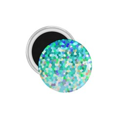 Mosaic Sparkley 1 1 75  Magnets by MedusArt