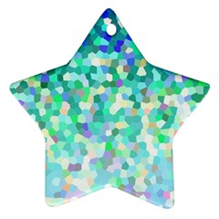 Mosaic Sparkley 1 Ornament (star)  by MedusArt
