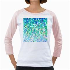Mosaic Sparkley 1 Girly Raglans by MedusArt