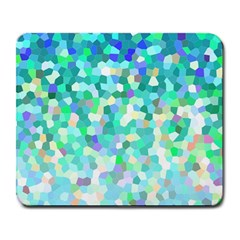 Mosaic Sparkley 1 Large Mousepads by MedusArt