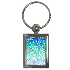 Mosaic Sparkley 1 Key Chains (rectangle)  by MedusArt